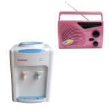 ซื้อ Sonar ตู้ทำน้ำร้อน น้ำเย็น ตั้งโต๊ะ วิทยุ สีชมพู มูลค่า 680 บาท ใน กรุงเทพมหานคร