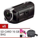 ทบทวน ที่สุด Sony Handycam Hdr Pj440 Bc Black Free Sr 16A4 Lcs U11