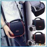 ขาย Soudelor Bag กระเป๋ากล้อง ดิจิตอล Digital กล้อง Mirrorless รุ่น 1204S สี ดำ ลายเส้นแดง Black Red Red ใหม่