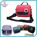 ซื้อ Soudelor Camera Bag กระเป๋ากล้อง Dslr Mirrorless ขนาดเล็ก ผ้า Canvas รุ่น 1682S สีชมพู Pink Color Pink ถูก ไทย
