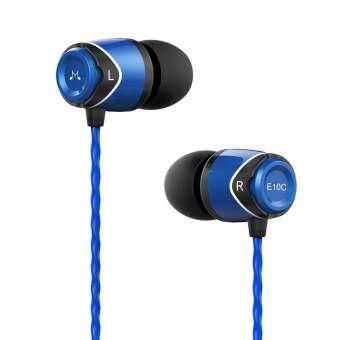 Soundmagic E10C หูฟังมีไมค์ควบคุมเสียงได้ทั้ง Android ,iOS (สีฟ้า)