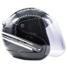 ซื้อ Space Crown หมวกกันน๊อค รุ่น Ws I สีดำเงา Space Crown ออนไลน์