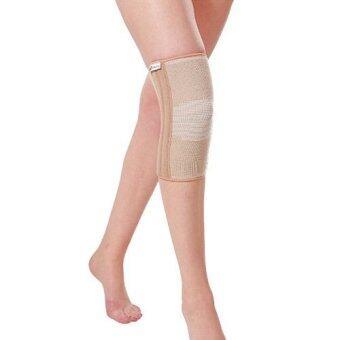 Special ผ้าเซรามิคยืดรัดพยุงข้อและกล้ามเนื้อเข่าแบบมีแกน (ปิดหัวเข่า) Closed Spiral Knee Support
