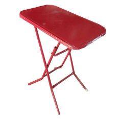 ขาย Spk Shop โต๊ะพับขาเหล็ก 1 5 ฟุต รุ่น หน้าเหล็ก สีแดง ออนไลน์ ไทย