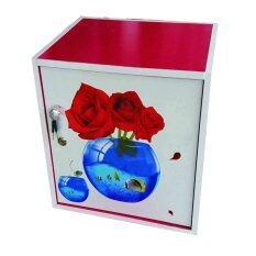 ซื้อ Spk Shop ตู้เซฟ ตู้เก็บของ ตู้ข้างเตียง ตู้อเนกประสงค์ รุ่น Safe Box1 2 สีขาว สีชมพูลายภาพหลากลาย ออนไลน์ ถูก