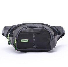 ราคา Sport Running Waist Pack Jogging Outdoor Climbing Bag Pouch Travel Belt Waist Bag Women Men Pack Black Unbranded Generic ออนไลน์
