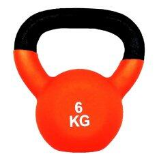 Sportland ดัมเบล Neoprene Dumbbell Kettlebel 6 Kg. (orange) By Landco Sport And Musical.