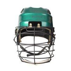 ราคา Sportland Hockey Head Guard Mask หมวกฮอกกี้ หน้ากาก Green Sport Land ใหม่