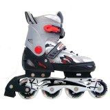 ส่วนลด Sportland อินไลน์ สเก็ต In Line Skate รุ่น Sl 151B Rd Silver Red Black Sport Land