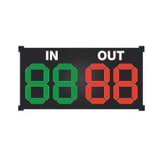 ราคา Sportland ป้ายเปลี่ยนตัว ฟุตบอล Scoreboard Changed Football 4Digits 40Cm X80Cm Sport Land เป็นต้นฉบับ