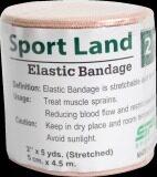 ส่วนลด สินค้า Sportland ผ้าก๊อต พันมือ นักมวย Elastic Bandage 2 นิ้ว