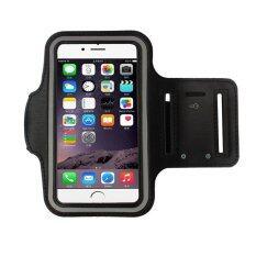 โปรโมชั่น Sportland สายรัด แขน มือถือ วิ่ง Iphone 6 Running Mobile Arm Band Black ขนาด 5 5 นิ้ว ถูก
