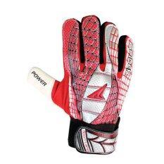 ทบทวน Sportland Spider Goal Keeper Gloves No 7 Red Silver Sport Land