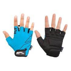 ราคา Sportland ถุงมือ จักรยาน สปอร์ตแลนด์ Bicycle Cycling Gloves Fly Blue Sport Land กรุงเทพมหานคร