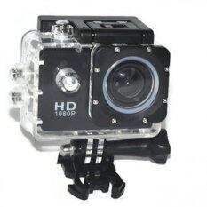 SPORTS กล้องบันทึกการขับขี่จักรยาน มอเตอร์ไซต์ WIFI FULL HD - Black