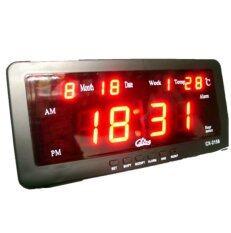 ทบทวน Spz นาฬิกาปลุก ตั้งโต๊ะ ติดผนัง Led พร้อมวันที่ ขนาด 7 นิ้ว ไฟสีแดง Spz