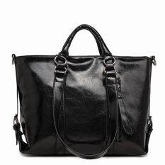 ซื้อ St Martshop กระเป๋าใส่เอกสารถือสะพายข้างหนัง รุ่น St31 สีดำ ใหม่