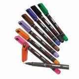 ความคิดเห็น Stabilo Ohpen Universal 841 ปากกาเคมีอเนกประสงค์ หัวปากกา S 4 Mm ชุด 4 สี Black Blue Red Green