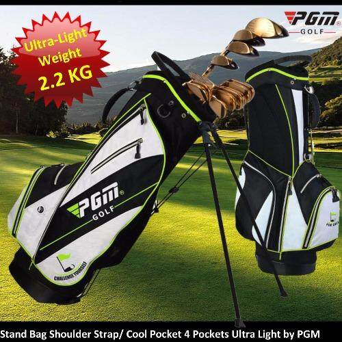 Stand Golf Bag Ultra Light 2.2 KG, Cool Box, Water Resistant by PGM
