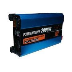 ขาย Startup 2000W Dc 12V To Ac 220V Power Lnverter Blue ถูก กรุงเทพมหานคร