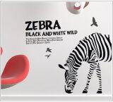 ซื้อ สติ๊กเกอร์ติดผนัง ตกแต่งบ้าน Wall Stickerกราฟฟิค Zebra ความสูง 80 Cm กว้าง 90 Cm ใหม่ล่าสุด