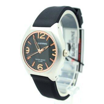 Submariner นาฬิกาข้อมือผู้หญิงและเด็ก สายยางซิลิโคน ระบบเข็ม - SC001 (Black)