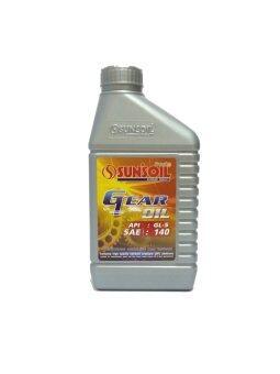 SUN'SOIL น้ำมันเกียร์ API : GL5 SAE # 140 ขนาด 1 L. Bronze