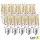 ขาย Sunix 10X 5W E14 Led Light Bulb 2835 48 Smd Non Dimmable 3000K Silicone Corn Bulb Warm White
