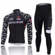ราคา Super D Shop ชุดยาวปั่นจักรยานลายทีม ยี่ห้อ Trek Yกางเกงเป้าเจล แบบ ผู้ชาย ผู้หญิง Super D ออนไลน์