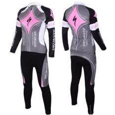ขาย ซื้อ ออนไลน์ Super D Shop ชุดยาวปั่นจักรยานลายทีม ยี่ห้อ Code Specializedกางเกงเป้าเจล แบบ ผู้ชาย ผู้หญิง