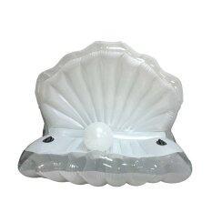 ราคา Super Fitness แพยางแฟนซี หอยมุก Seashell Pool Float Thailand