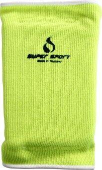 SUPER SPORT สนับเข่า มีฟองน้ำ Knee Pad W/Sponge 4024 YL