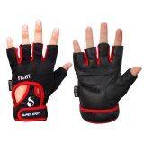 ทบทวน Super Sport ถุงมือ ฟิตเนส ยกน้ำหนัก เทรนนิ่ง Fitness Gloves Fight Red