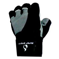 โปรโมชั่น Super Sport ถุงมือ ฟิตเนส ยกน้ำหนัก Weight Lifting Glove Maximus Su Size สีดำ กรุงเทพมหานคร