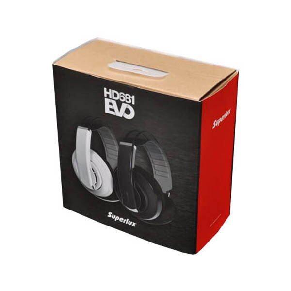 จะซื้อ Superlux HD681EVO หูฟัง Fullsize Headphone ครอบหู รับประกันศูนย์ไทย - Black (แถมฟรี Earpad สำรอง แบบกำมะหยี่ 1 คู่) ข้อดี ข้อเสีย