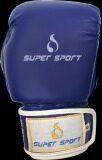 Supersport นวม นักมวย หนัง Pu Boxing Gloves 6 Oz รุ่น Su731 สีน้ำเงิน กรุงเทพมหานคร