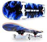 ขาย Sway สเก็ตบอร์ด รุ่น นน 3 กก Model Fire Kirin Blue แถมฟรี กระเป๋า ลูกปืนสำรองและอุปกรณ์ Skateboard ถูก