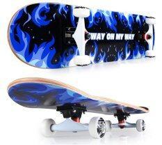 ขาย Sway สเก็ตบอร์ด รุ่น นน 3 กก Model Fire Kirin Blue แถมฟรี กระเป๋า ลูกปืนสำรองและอุปกรณ์ Skateboard ผู้ค้าส่ง
