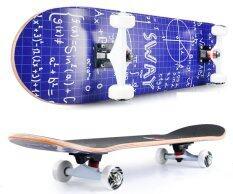 ทบทวน ที่สุด Sway สเก็ตบอร์ด รุ่น นน 3 กก Luxury Model Logic Formula แถมฟรี กระเป๋า ลูกปืนสำรองและอุปกรณ์ Skateboard