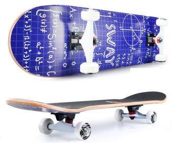SWAY สเก็ตบอร์ด รุ่น นน.3 กกLuxury Model Logic Formula แถมฟรี กระเป๋า ลูกปืนสำรองและอุปกรณ์ skateboard