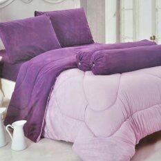 ซื้อ Sweet Kip ชุดผ้าปูที่นอน 6 ฟุต พร้อมผ้านวม 5 ชิ้น ลายสีพื้นสีม่วง ออนไลน์ กรุงเทพมหานคร