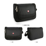 Swissgear 9730 Model Unisex Leisure Travel Wash Cosmetics Package Black ใหม่ล่าสุด