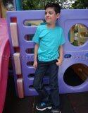 ซื้อ T Shirt Export เสื้อยืดเด็ก คอกลม แขนสั้น Cotton 200 สีเขียวมิ้นต์ T Shirt Export ออนไลน์