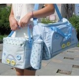 ส่วนลด T Toys กระเป๋าสัมภาระคุณแม่ ยี่ห้อ Mothercare เซต 3ใบ สีฟ้า T Toys