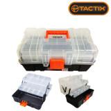 ขาย Tactix 320309 Plastic Tool Box กล่องเครื่องมือ กล่องอะไหล่ 13 ถูก กรุงเทพมหานคร
