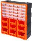 ราคา Eshoppingth Tactix Drawer Cabinet กล่องเครื่องมือช่าง 30ช่อง ถาด 9ช่อง สีดำ สีส้ม รุ่น 320644 เป็นต้นฉบับ