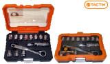 ราคา ราคาถูกที่สุด Tactix 900314 Socket Set And Driver Ratchet ชุดบล็อกและด้ามข้อต่อ 3 8