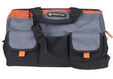 ซื้อ Eshoppingth Tactix กระเป๋าเครื่องมือช่าง 16 รุ่น 323143 สีดำ สีส้ม ถูก กรุงเทพมหานคร