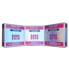ราคา Tanako B*b* Skin 2 Way Cake แป้งพัฟ แป้งเค้ก 2 ชั้น หน้าขาวเนียน หน้าเงากระจ่างใส ป้องกันแดด รังสียูวี 3 กล่อง เป็นต้นฉบับ