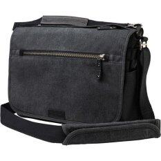 Tenba Cooper 15 Luxury Canvas Camera Bag with Leather Accents (Gray)